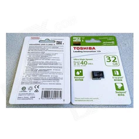 Sale Toshiba Sdhc Uhs I Class 10 32gb Sd R032r7uln01a toshiba 32gb microsd sdhc tf class 10 uhs i 40mb s 32g mobile memory card micro free shipping