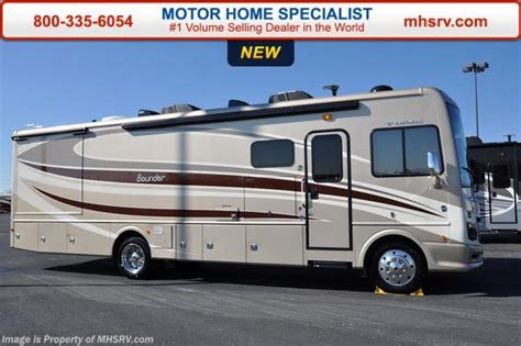 2016 fleetwood rv bounder 33c class a rv for sale at motor