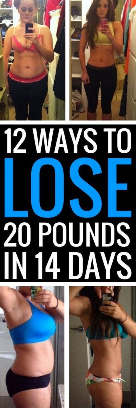 12 Best Ways To Lose Weight by 12 Ways To Lose 20 Pounds In 14 Days Lose 20 Pounds
