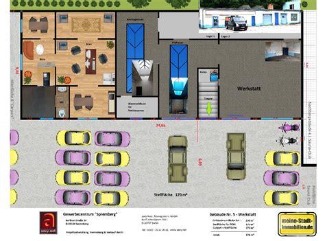 werkstatt grundriss 6 120 m 178 quot autohaus shop werkstatt quot in spremberg