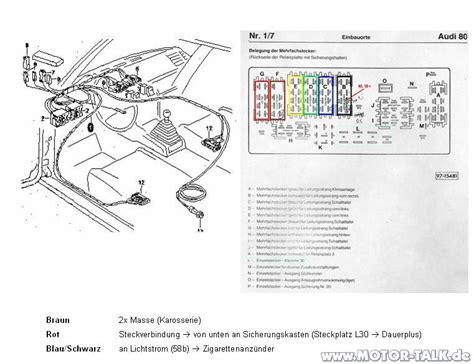Audi sitzheizung : Sitzheizung wo was anschließen : Audi 80, 90, 100, 200 & V8 : #203663239