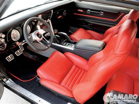 Handmade Interiors - project 68 camaros autos weblog