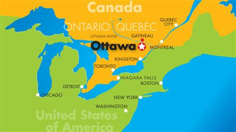 map of canada ottawa image gallery ottawa canada map