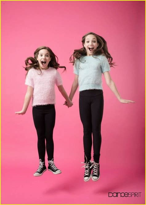 the silver star by maddie telyse and hannah maddie ziegler to dance spirit mag i feel like hannah