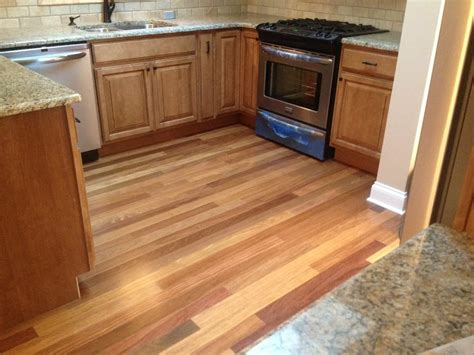 durable hardwood floors cumaru durable exotic hardwood floor in the kitchen yelp