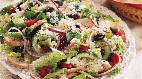 printable greek recipes greek chicken salad recipe bettycrocker com