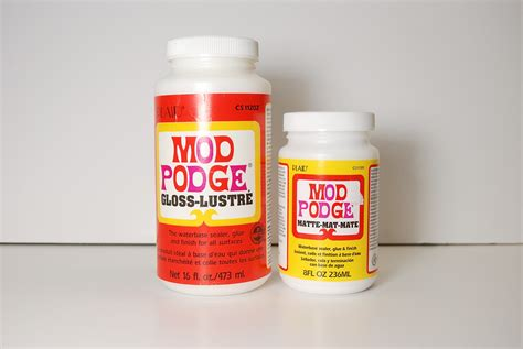 What Is The Difference Between Decoupage And Mod Podge - what is the difference between mod podge and acrylic