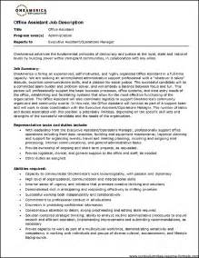 Medical Office Assistant Resume Examples Medical Office Assistant Duties Resume Free Samples