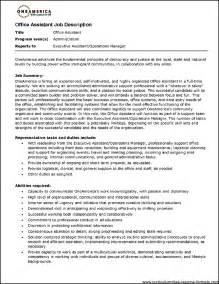 Sample Resume For Medical Office Assistant Medical Assistant Duties For Resume Getessay Biz