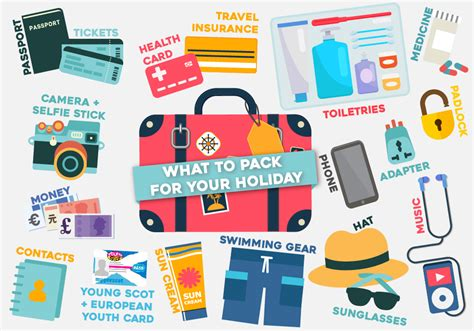 what things should you pack for your holiday young scot