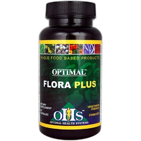Detox Flora Plus by Optimal Health Systems Optimal Flora Plus 90 Capsules