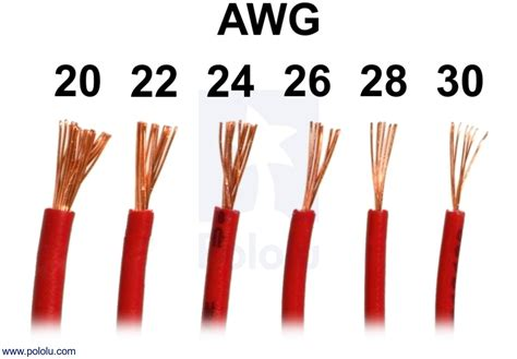 pololu stranded wire yellow 26 awg 70