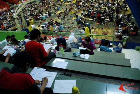 Sukses Masuk Ui Ips 1500 siswa ikuti try out fe ui
