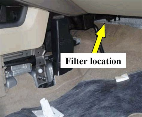 Nissan Murano Cabin Air Filter by 2009 2013 Nissan Murano In Cabin Microfilter Replacement