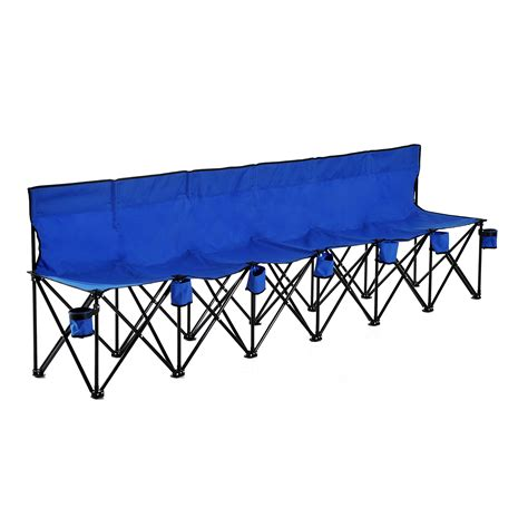 bench games portable 6 seats folding bench chair outdoor cing