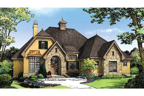 European Style House Plans Homey European Cottage Hwbdo76897 Country From Builderhouseplans