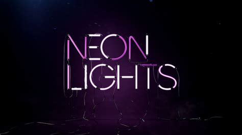 Neon Lights Font by Neon Font Forum Dafont