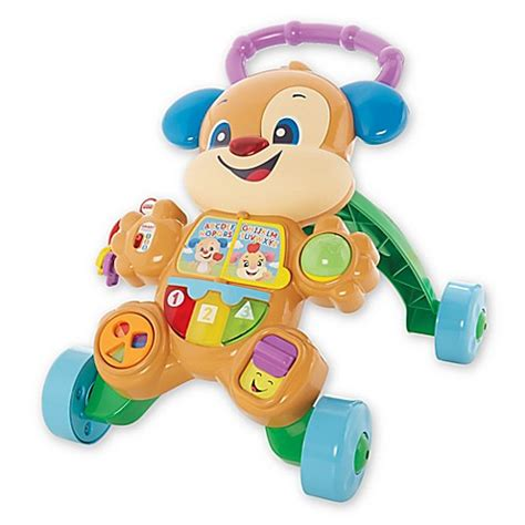 fisher price puppy walker fisher price 174 laugh learn 174 puppy walker buybuy baby