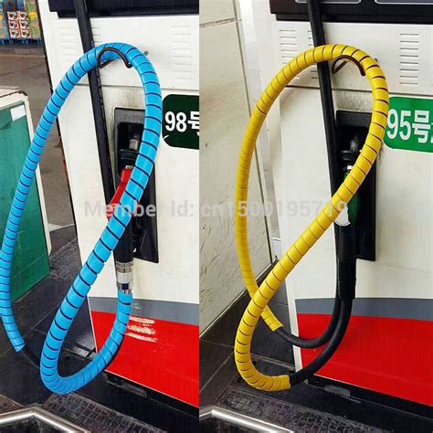 6 Mm 10 Meter Spiral Wrapping Band Pelindung Kabel 28 mm protective gas hose add angry machine hose protection wear protective decoration