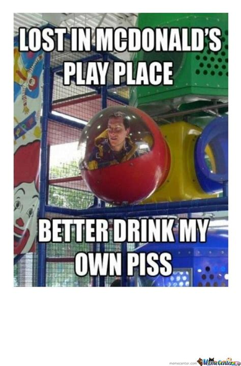 Mcdonald Memes - lost in mcdonalds playplace by bryan raye meme center
