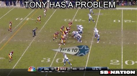 Romo Interception Meme - tony romo sucks cowboys tony romo suck
