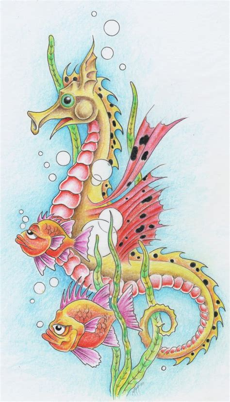 seahorse by markfellows on deviantart