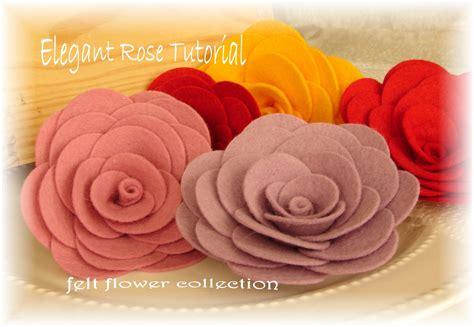 felt pattern tutorial 40 felt flower tutorials frugal family fair