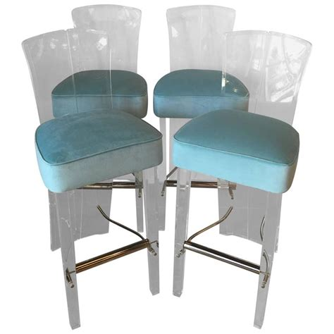 lucite bar stools for sale lucite and brass barstools bar stools charles hollis jones
