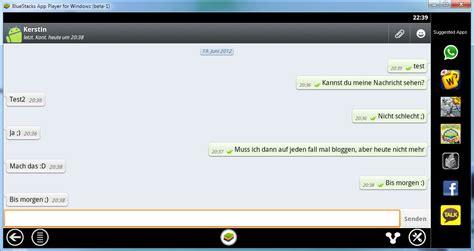 whatsapp tutorial german whatsapp auf dem pc nutzen mit bluestacks antary