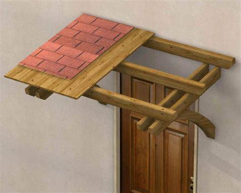 copertura porta ingresso pensilina tettoia in legno in kit copertura per porte a