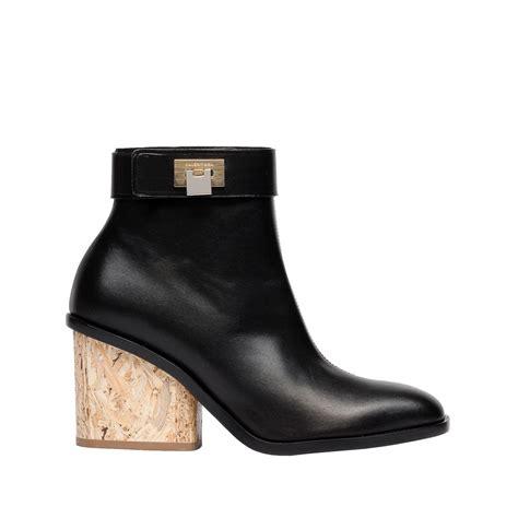 balenciaga balenciaga wood ankle boots s ankle boot