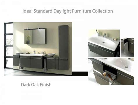 Ideal Standard Bathroom Furniture Ideal Standard Daylight 1300mm Wall Hung Vanity Unit Uk Bathrooms