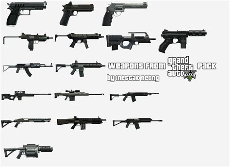 gta 5 all weapons gta 5 guns bing images