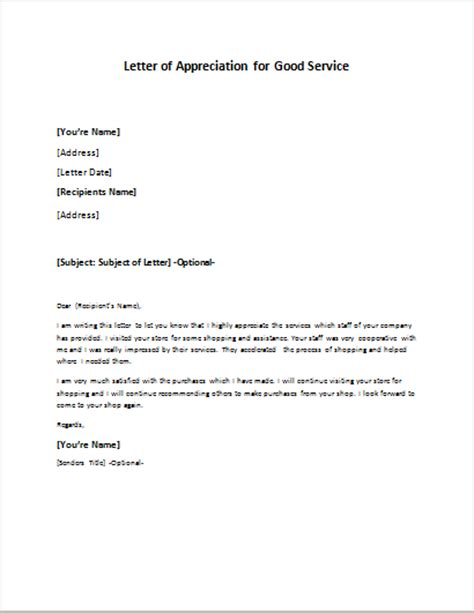 appreciation letter on service postpaid service contract cancellation letter