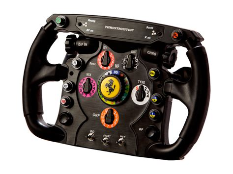 thrustmaster f1 steering wheel replica launched