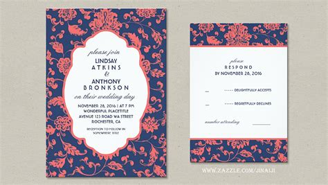 coral and navy wedding invitations read more coral and navy wedding invitations wedding