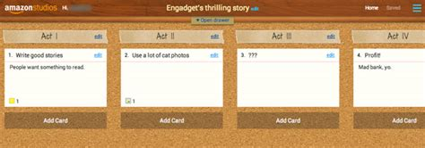 amazon storybuilder amazon storybuilder beta puts your screenplay ideas in the