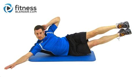 30 minute at home abs and cardio workout fitness blender