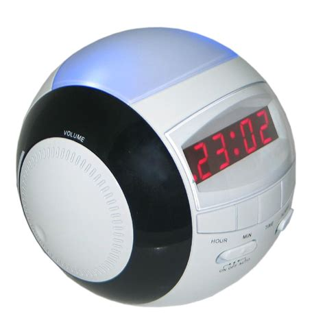 Fm Light by Am Fm Led Alarm Clock Radio With Light Rt 236