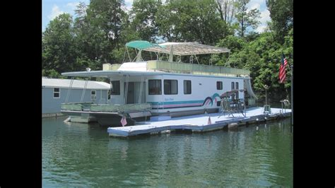 houseboats for sale tn 1999 aqua chalet 16 x 68wb houseboat for sale on norris