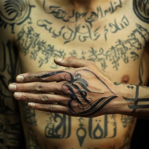 tattoo artist islam arabic black ink script tattoo venice tattoo art designs