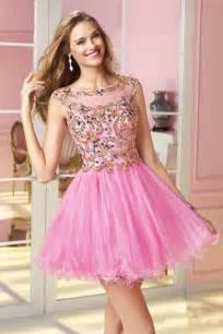vestidos de xv rosados aquimodacom vestidos de boda vestidos vestidos de 15 a 241 os con cuello redondo