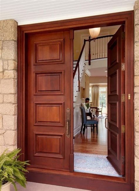 Front Door Entrance Furniture Front Door Designs The Best Wood Furniture