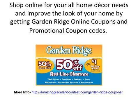 Garden Ridge Coupons Gardeners.com Coupon Code