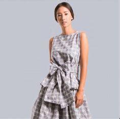 Atasan Wanita Batik Peplum Top Ff0652 tenun rang rang peplum top tight skirt pencil skirt galuh ayu blue set top and skirt