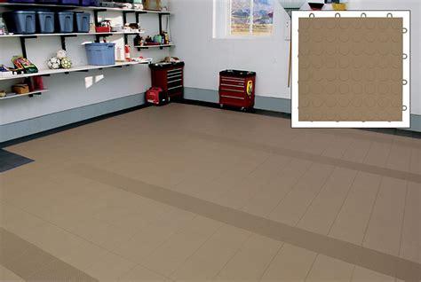 Raised Garage Floor by Motor Mat Sport Tread 12 Quot X 12 Quot Garage Floor Tile Beige