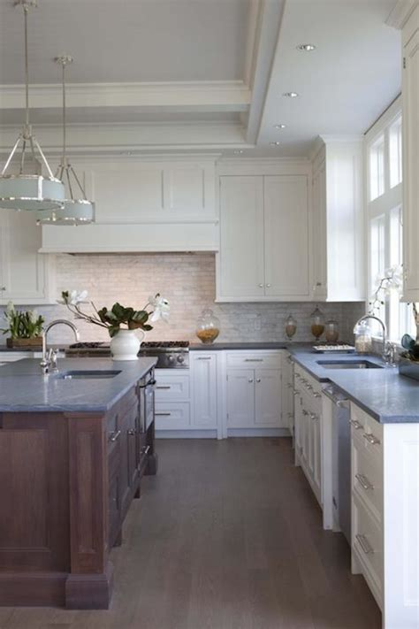 concrete kitchen countertops with white cabinets concrete countertops contemporary kitchen milton