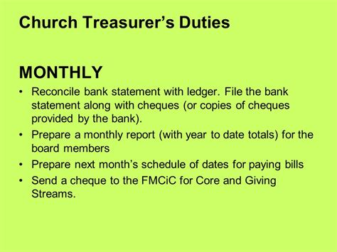 Duties Of Church Treasurer by Cell Phones In Church Ppt
