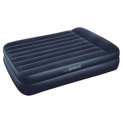 inflatable queen bed bestway queen inflatable air bed with electric pump buy