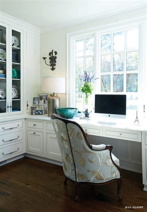 Built In Office Desk Ideas Glam Work Spaces That Will Make You Want To Get Your Work Done Remodelicious